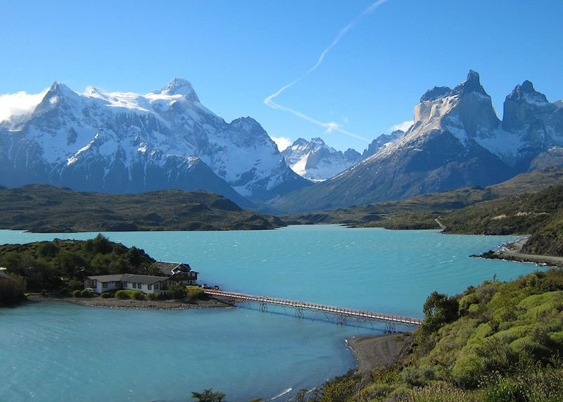 Un coin de paradis face au Cerro Paine.