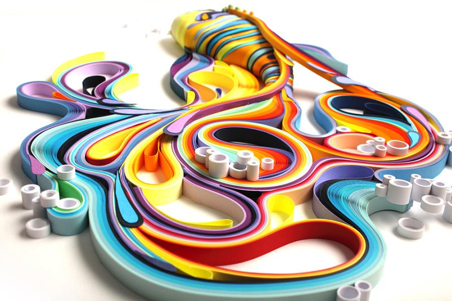 portrait-sculpture-illustration-papier-3D-yulia-brodskaya