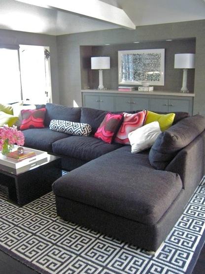 décoration-salon-noir-blanc-décoration-intérieur