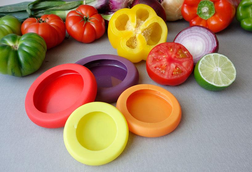 Ustensile de cuisine, couvercle pour légumes en silicone