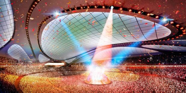 architecture stade olymipique par zaha hadid