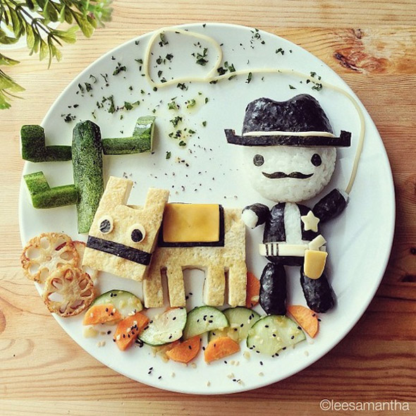 lee samantha-food-art