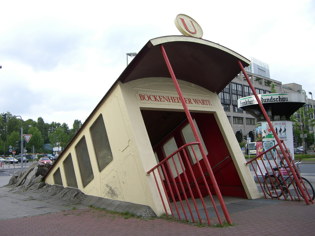 station-metro-Francfort-Allemagne