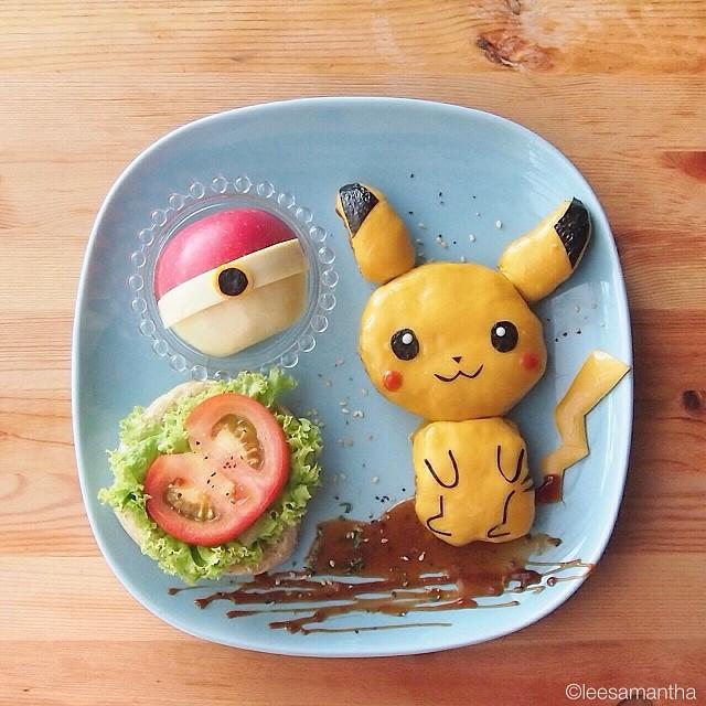 lee samantha-food-art