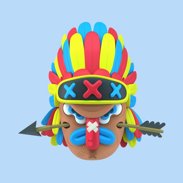Mucho-Macho-Character-Design-helloodesigner