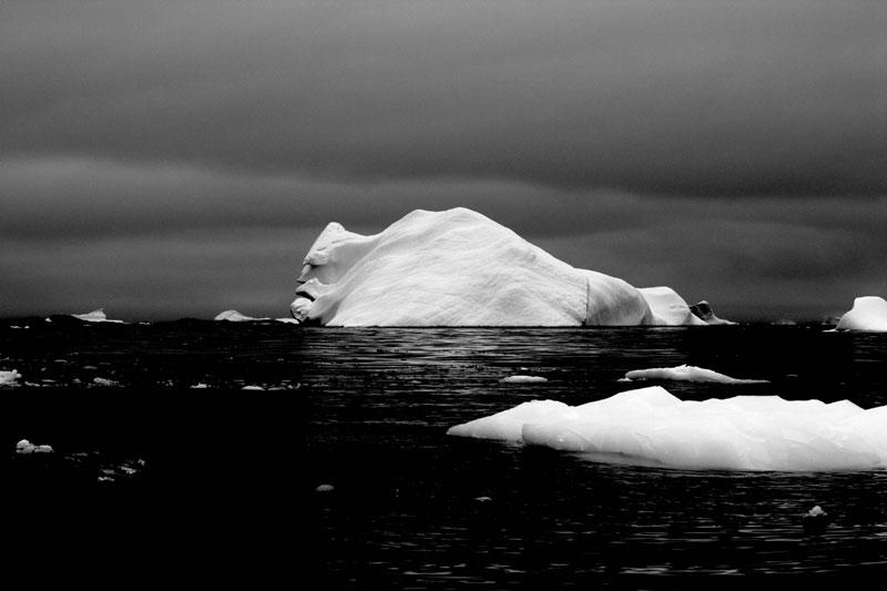 Le visage de l'iceberg.