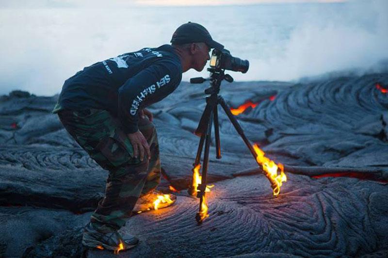 La passion pour la photographie n'a pas de limite.