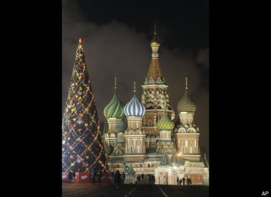 Cathédrale Saint-Basile, Moscou, Russie-Christmas Decorating Ideas-noel-idee-fête-decoration