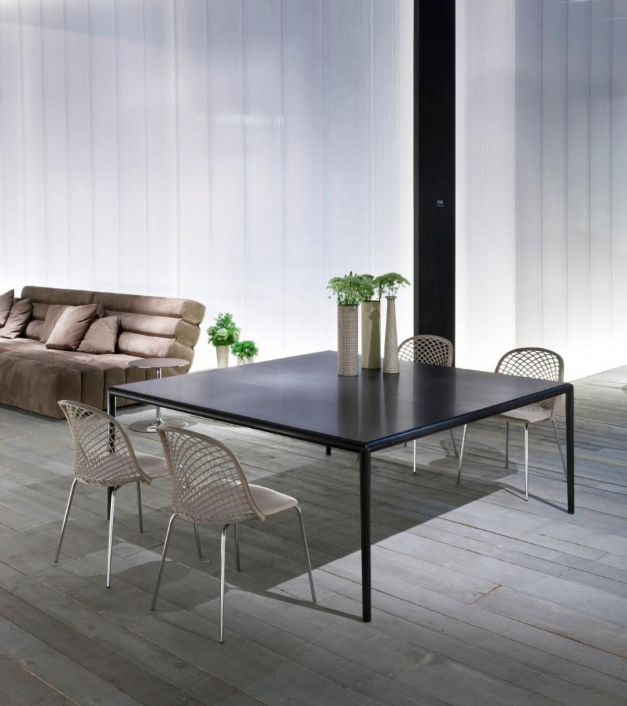 matteograssi XT tavolo + ZOE sedie