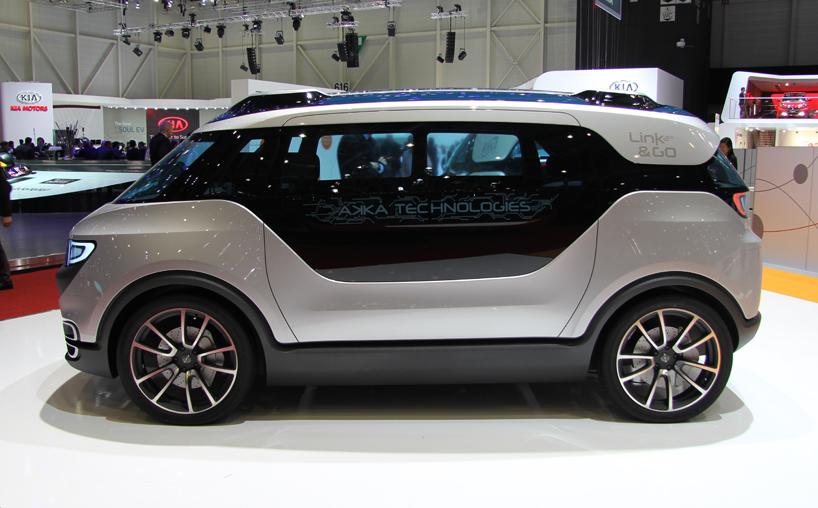 lien et aller 2.0 propose des services à l'intérieur de la voiture tels que la capacité de connectivité, de grandes données et les capacités de cloud computing