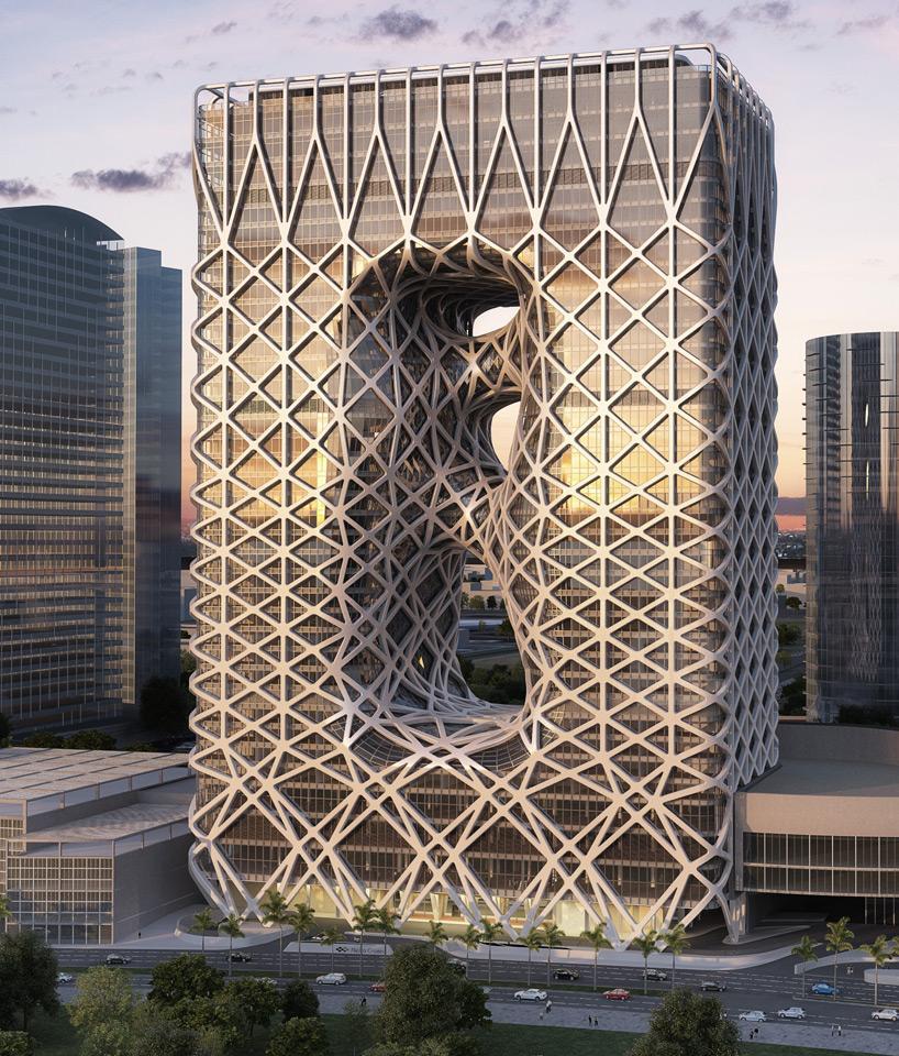 hotel de macao conçu par l'architecte zaha hadid
