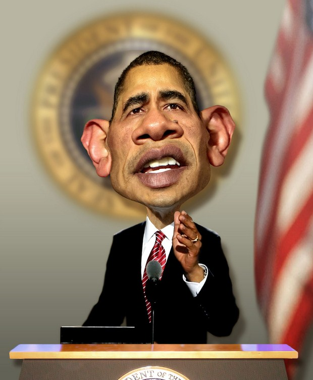 Barack-Obama-Portrait-caricature-helloodesigner