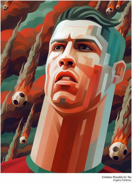Cristiano_Ronaldo_Evgeny Parfenov_helloodesigner
