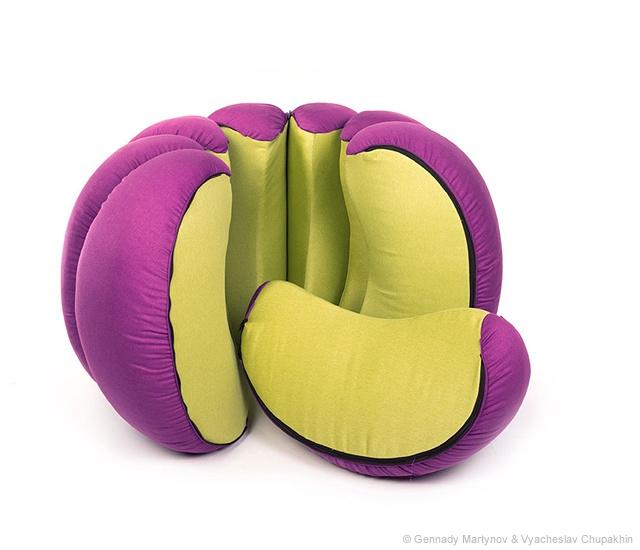 pouf design de designer gennady martynov