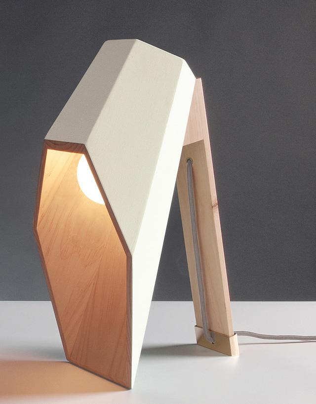 lampe bureau bois par alessandro zambelli