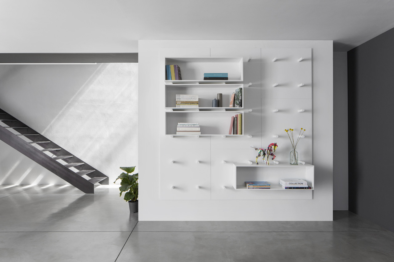 red dot awards aris architect Heni Chaouech bookshelf dot