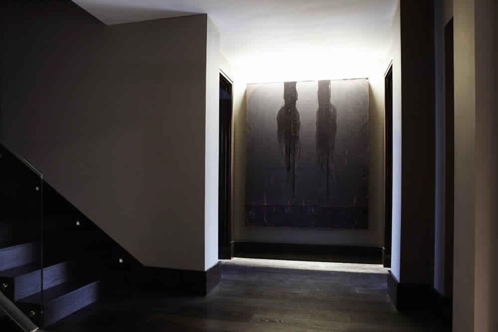 Knightsbridge-Residence-in-London-decoration-classique-luxe-salle de bain-cuisine-shower-bedroom