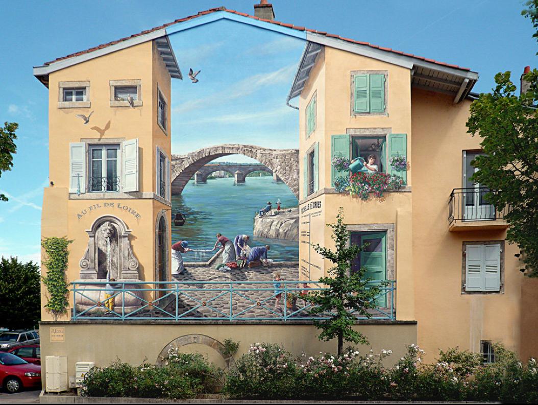 Patrick Commecy-peinture-fresque-france-illustration-illusion-optique-art-3D