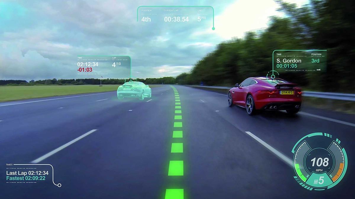 réalité-augmentée-jaguar-pare brise-connectée