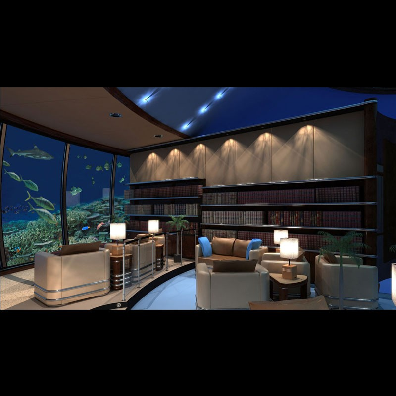 hotel design Poseidon Undersea Resort