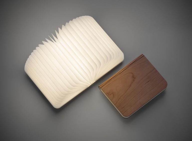 éclairage en forme de livre design