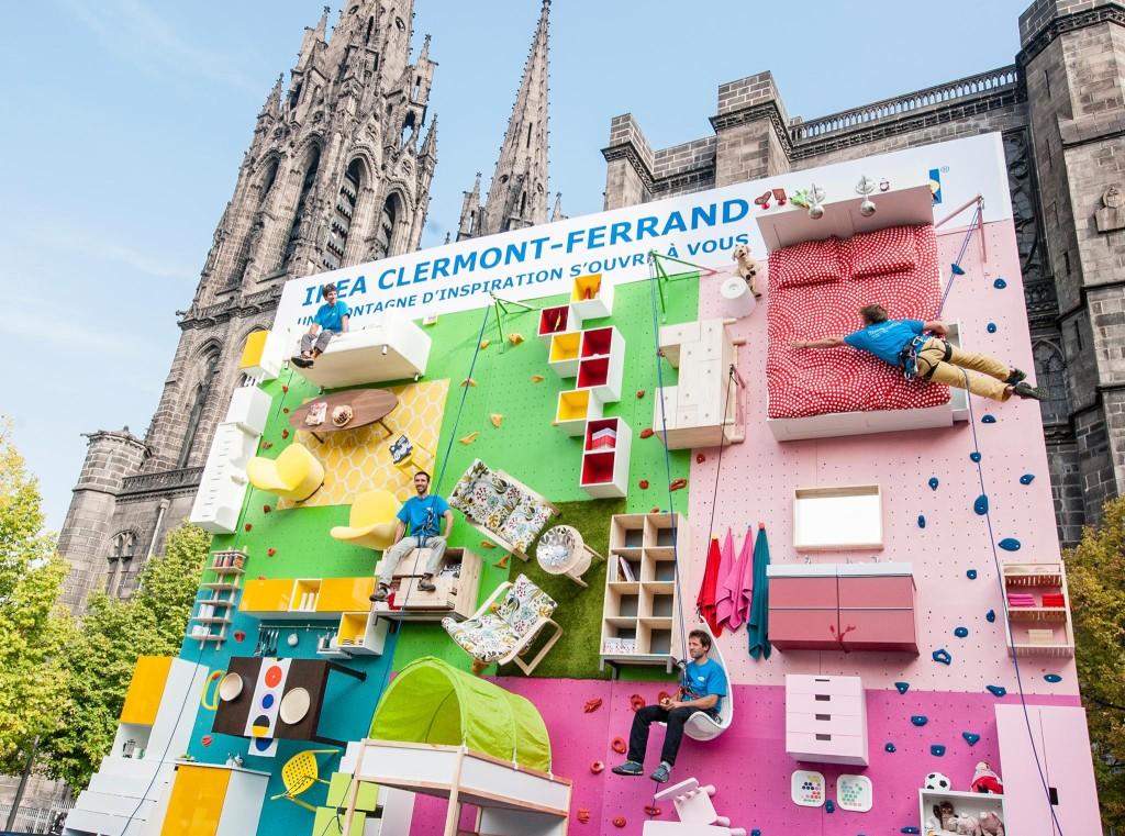 ikea-mur-escalde-clermont-ferrand-street-marketing-campagne publicitaire1