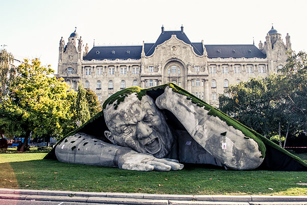 sculpture-geante-art-contemporain-création-design-Széchenyi-Budapest-Hervé Lranth Ervin