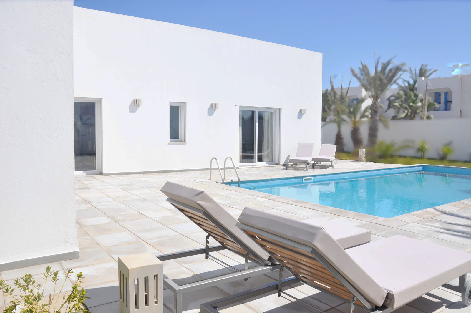 architecture moderne traditionnelle tunisie villa R samia-benabdallah BA-Studio
