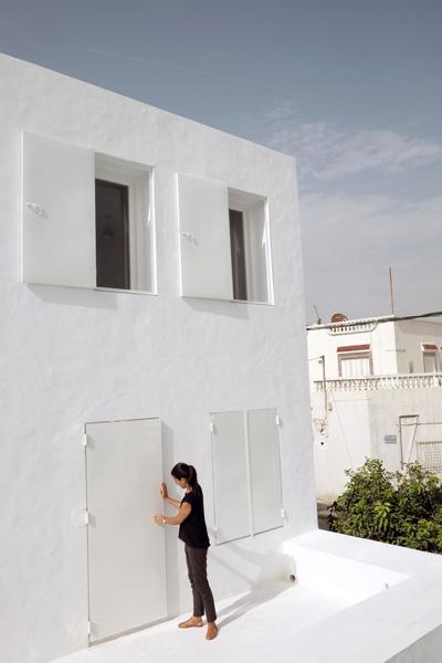 dar mim hammamet architecture traditionnelle tunisienne cabinet architecture septembre
