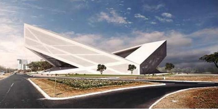 Olfa Kammoun et Mohamed Bouzrara, architectes tunisiens stade brésil
