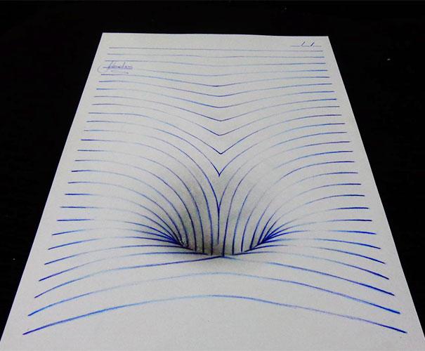 illustration dessin 3D