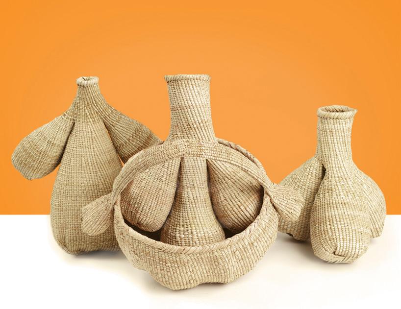 vannerie africaine par le designer Matali Crasset
