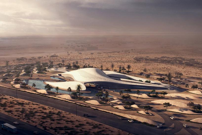 siège du Bee'ah aux emirates par l'architecte zaha hadid