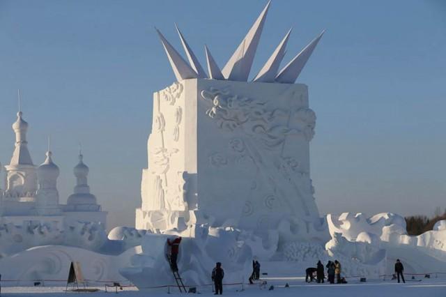 Harbin-Ice-Festival-2015-sculpture-art-création5