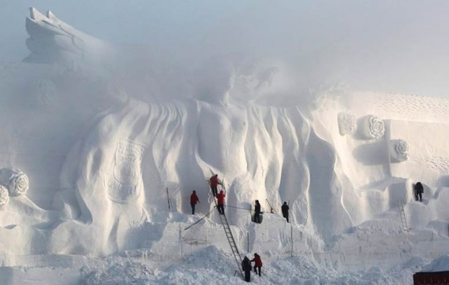 Harbin-Ice-Festival-2015-sculpture-art-création
