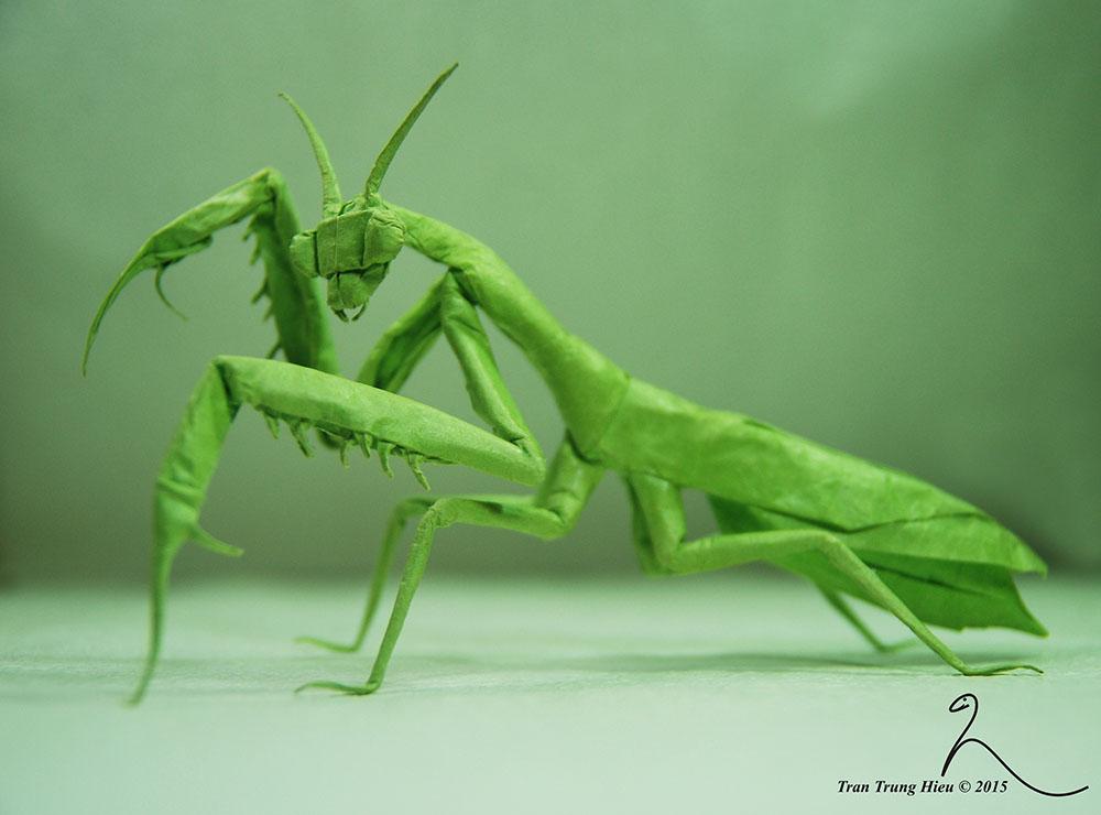 art-origami-dinasaure-adam-tran-sculpture-bricolage-art-création