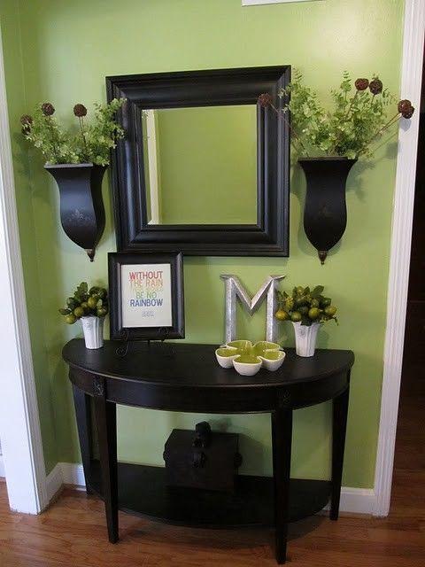 décoration meuble entrée